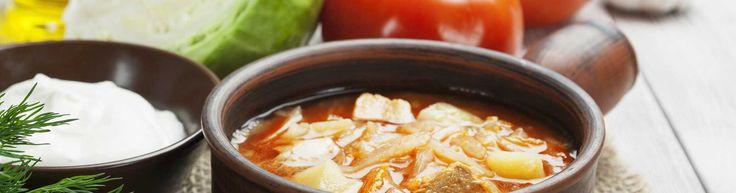 Crock Pot Un-Stuffed Cabbage Roll Soup via @30DaysSugarFree