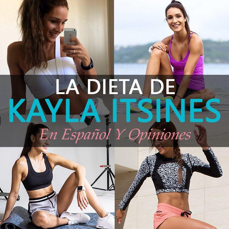 La Dieta De Kayla Itsines En Español Y Opiniones - La Guía de las Vitaminas
