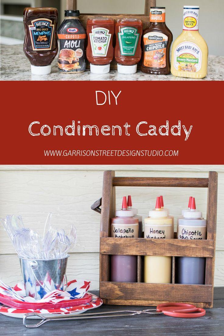 DIY Condiment Caddy   Garrison Street Design Studio