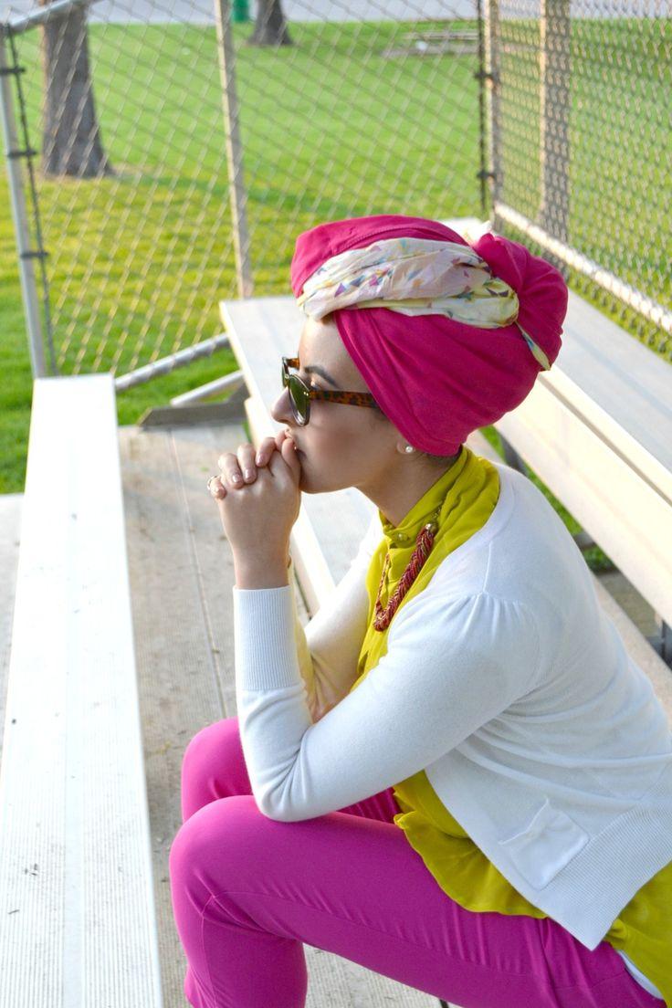 Hot Pink Hijab - oh Yeah!!!