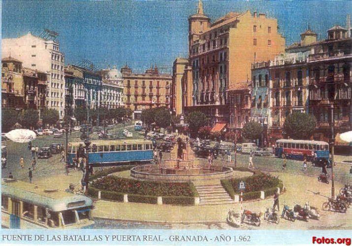Puerta-Real-1962-Granada-antigua