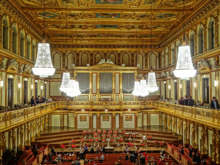 The Golden Hall in Musikverein, home of the Vienna Philharmonic