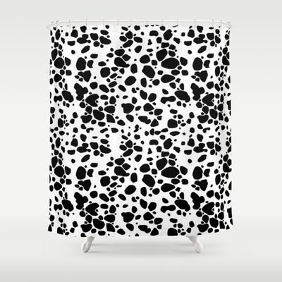 Dalmatian Shower Curtain - Available Here: http://society6.com/product/dalmatian-s7s_shower-curtain