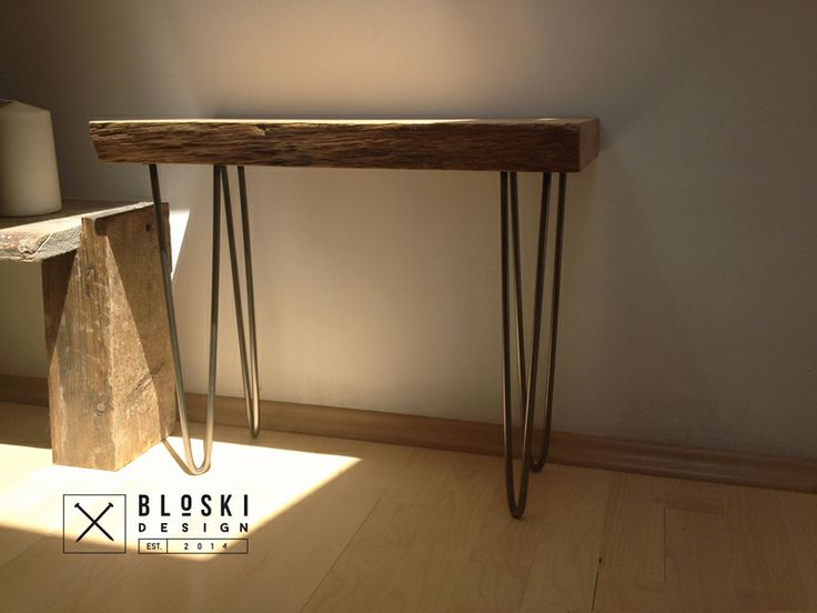 oak&steel, night table Bloski good for a day