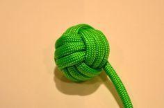 Paracord Monkey's Fist #knot