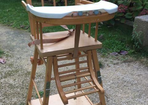 Donne chaise haute Combelle