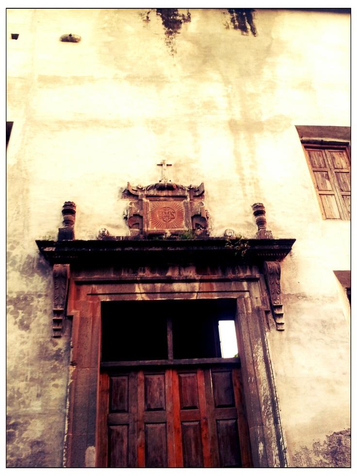 An old church picture taken next to the Vasai Fort , Mumbai, India