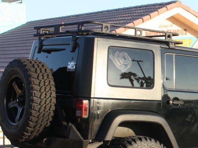 Smittybilt 45454 Defender Roof Rack For 07 18 Jeep