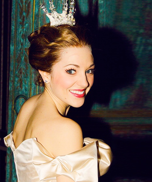 Laura Osnes Cinderella Yellow Dress