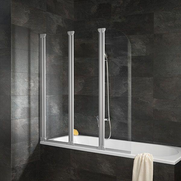 Schulte Faltwand Duschwand Badewannenaufsatz Duschabtrennung