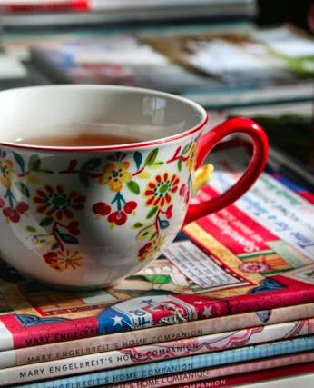 Why not settle down with a cuppa and your favourite novel!