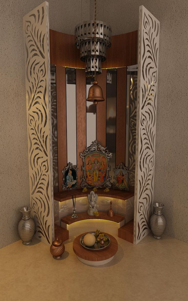 Pooja Room By Kamlesh Maniya, Interior Designer In Surat, Gujarat , India