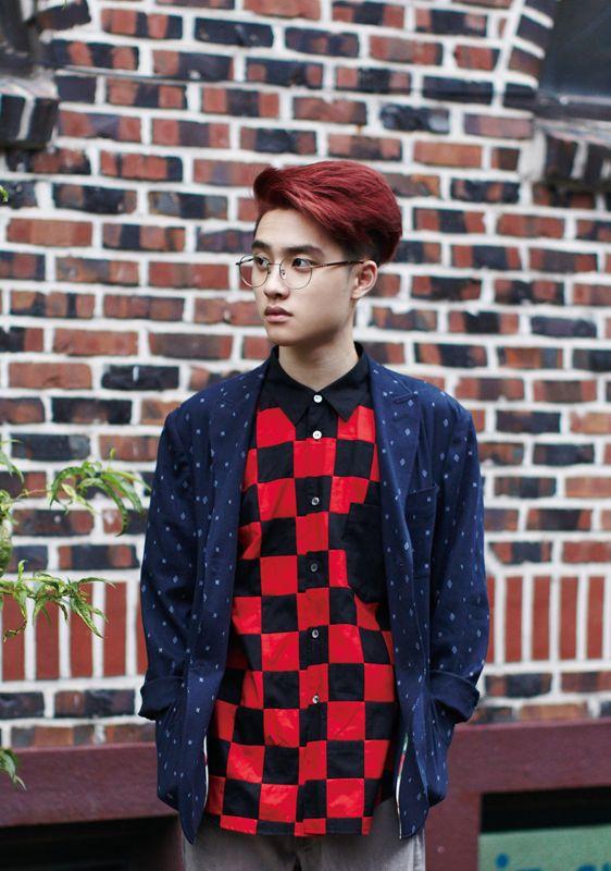 Kyungsoo's individual teaser photo for Growl