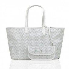 Goyard Saint Louis Tote Bag GM White