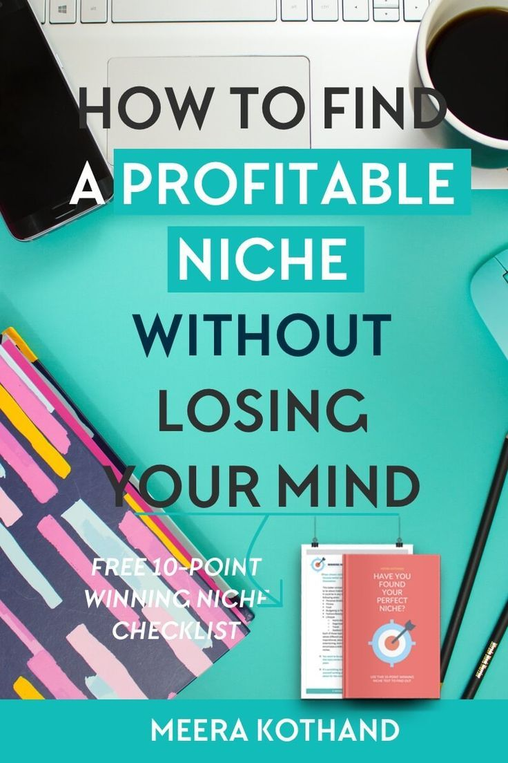 Finding ideas for a blog niche? Struggling with how to 'niche' down? In this post I walk you through the myths and tips you need to know before you pick a blog niche. Grab the 10 point checklist to see if you have a winning niche as well! #blogging #niche #making #money #entrepreneur