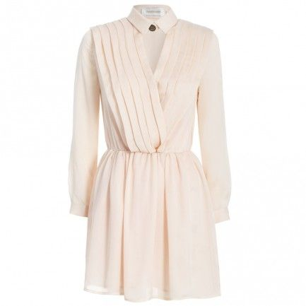 Zimmermann Honour Pleat Wrap Dress
