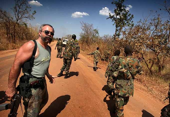"Sam Childers - The real ""Machine Gun Preacher"". Sam Childers, a former gang biker turned preacher and defender of African orphans."