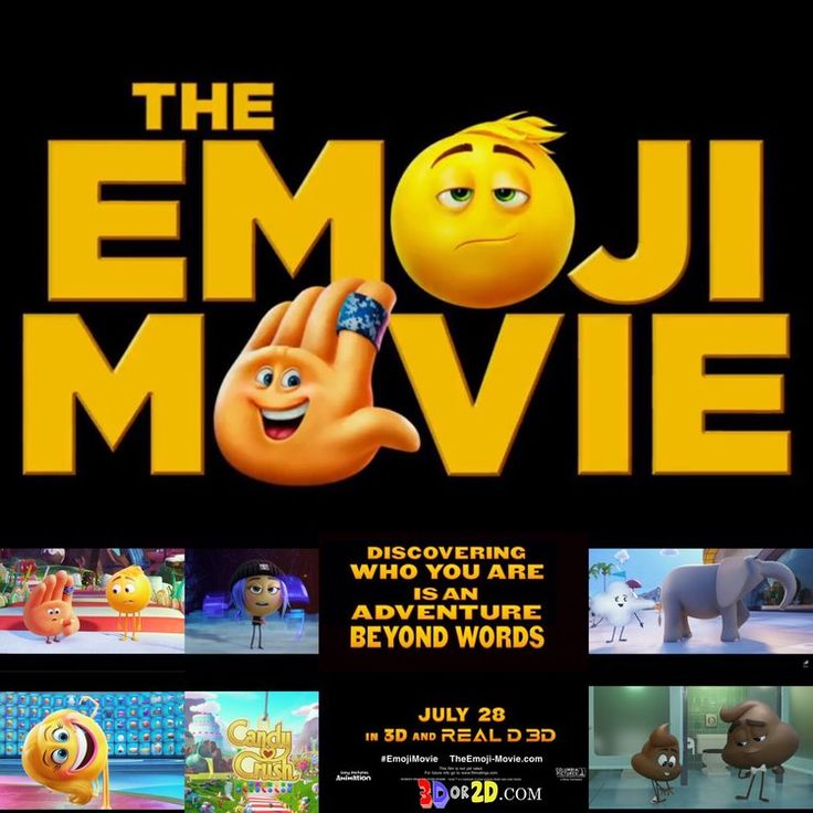"The Emoji Movie (July 28, 2017) a 3D computer-animated adventure comedy film written/directed by Tony Leondis. Hidden inside a smartphone, in the city of . Textopolis, all emojis have one facial expression, Gene, an exuberant emoji has multiple expressions. Gene wants to be ""normal"" like other emojis, Gene's friend Hi-5, a notorious code breaker, Jailbreak helps him. During travels through other apps, the three emojis discover great danger threatening their phone's very existence."