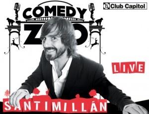 Santi Millán se ha hecho con su propio show, y nunca mejor dicho. Hazte con tu entrada y disfruta de 'Santi Millán Live' en el Club Capitol. ¡Irrepetible!