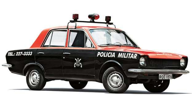 Ford Corcel 1976 utilizado na repressão