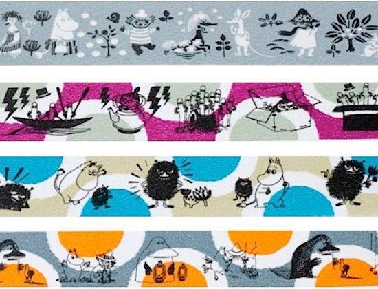 moomin character  washi masking tape  moomin spots   by washimatta