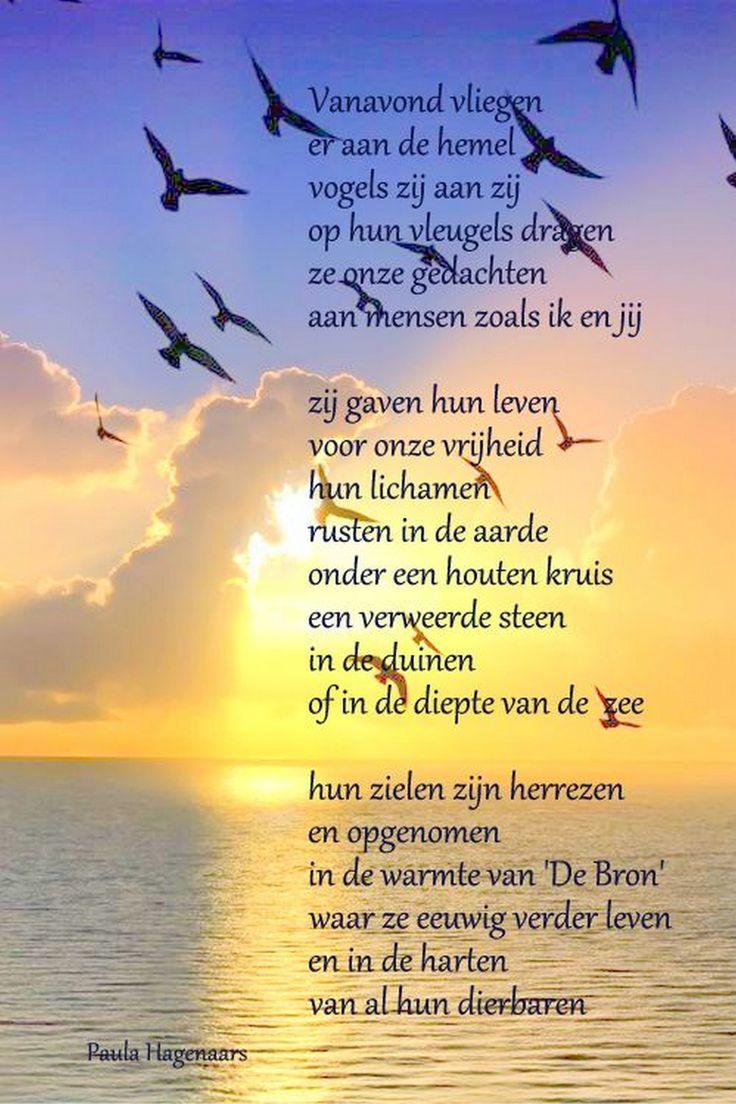 Gedichten Paula Hagenaars  Herdenken