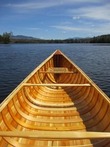 Handmade & Crafted Wooden Canoes for Sale   Coos Canoe & Snowshoe