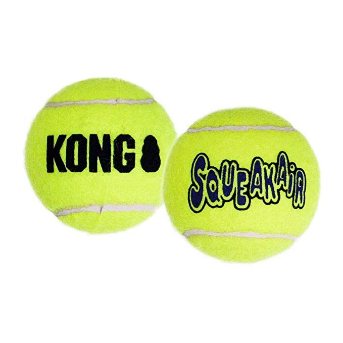 Kong Air Dog Squeakair Dog Toy Tennis Balls Small 3 Pack Review Dog Toys Dog Fetch Toy Fetch Toy
