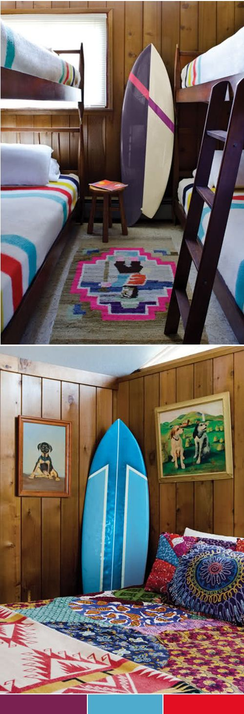 [when I retire the board ideas] surf board + bunk beds