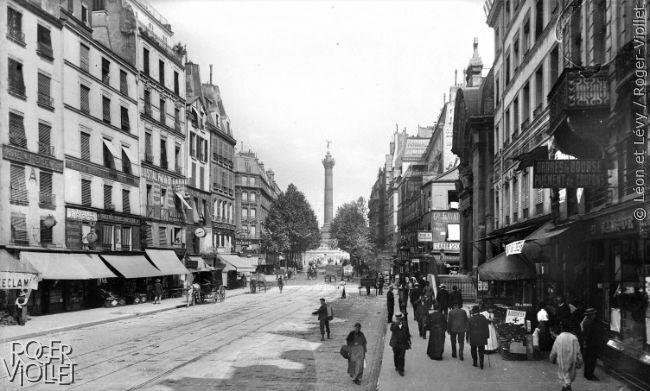 L'Hôtel de Sens vers 1895.