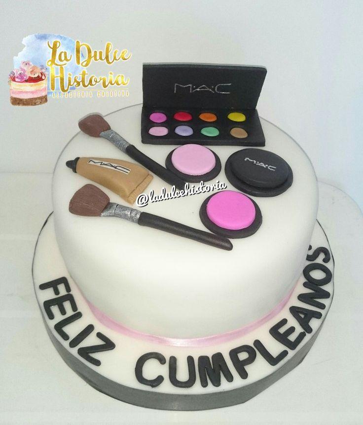 Torta de maquillaje #makeupcake