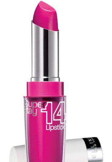 Wyrazista szminka - będzie robić za cały makijaż ;)