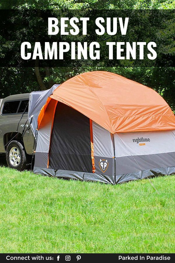 The best SUV and hatchback tents for comfortable camping