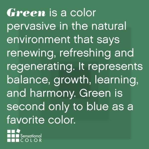 The Meaning And Symbolism Of Color Green Is Pervasive In Natural Envi Sensational Psychology