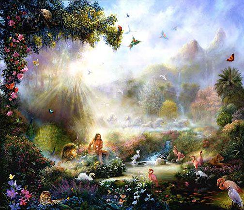 Garden Of Eden Landscape: BREATH OF LIFE By Tom DuBois