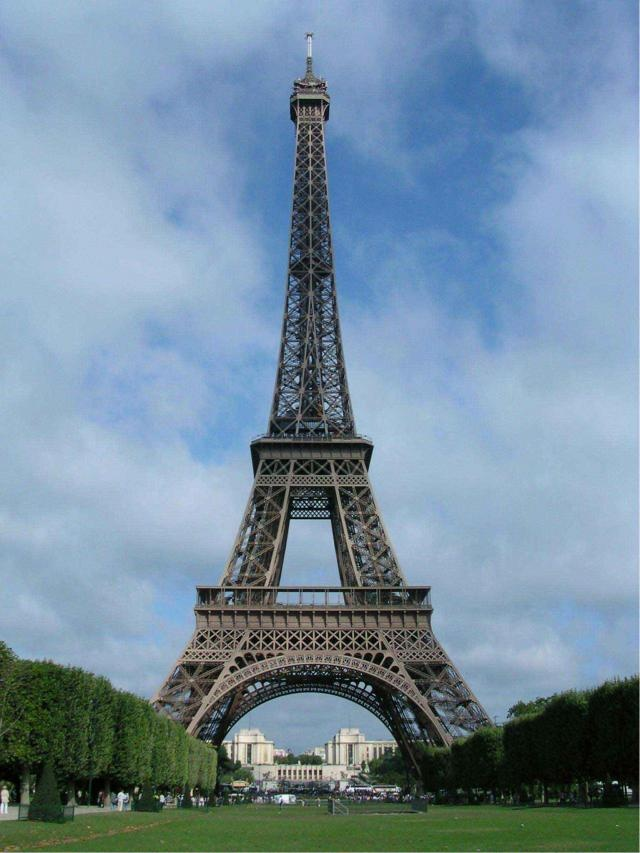 6. Torre Eiffel (Francia).