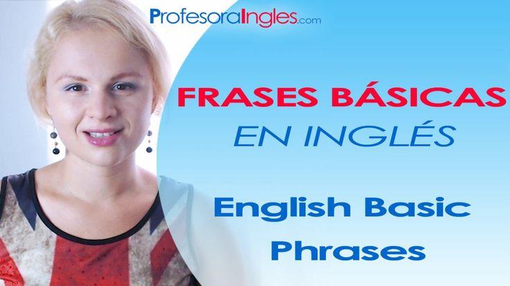 Frases básicas en inglés (65 frases) principiantes English Basic Phrases