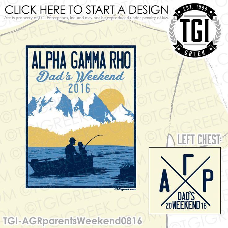 TGI Greek- Alhpa Gamma Rho- Greek Apparel #AlphaGammaRho #AGR