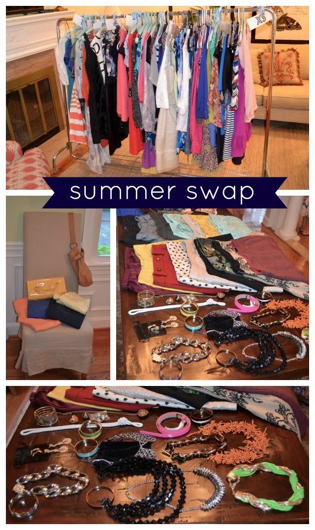 Declutter by Hosting a Clothing Swap!