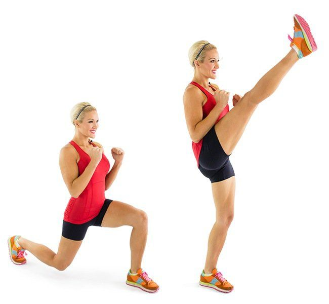Get+It+Right,+Get+It+Tight:+Reverse+Lunge+and+Front+Kick