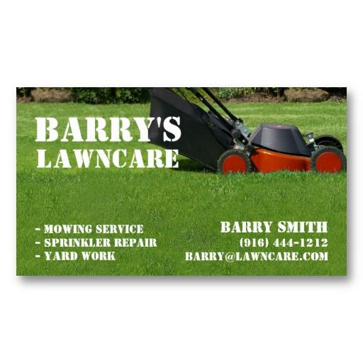 22 best lawn service business cards images on pinterest business lawn care or landscaping business card flashek Image collections