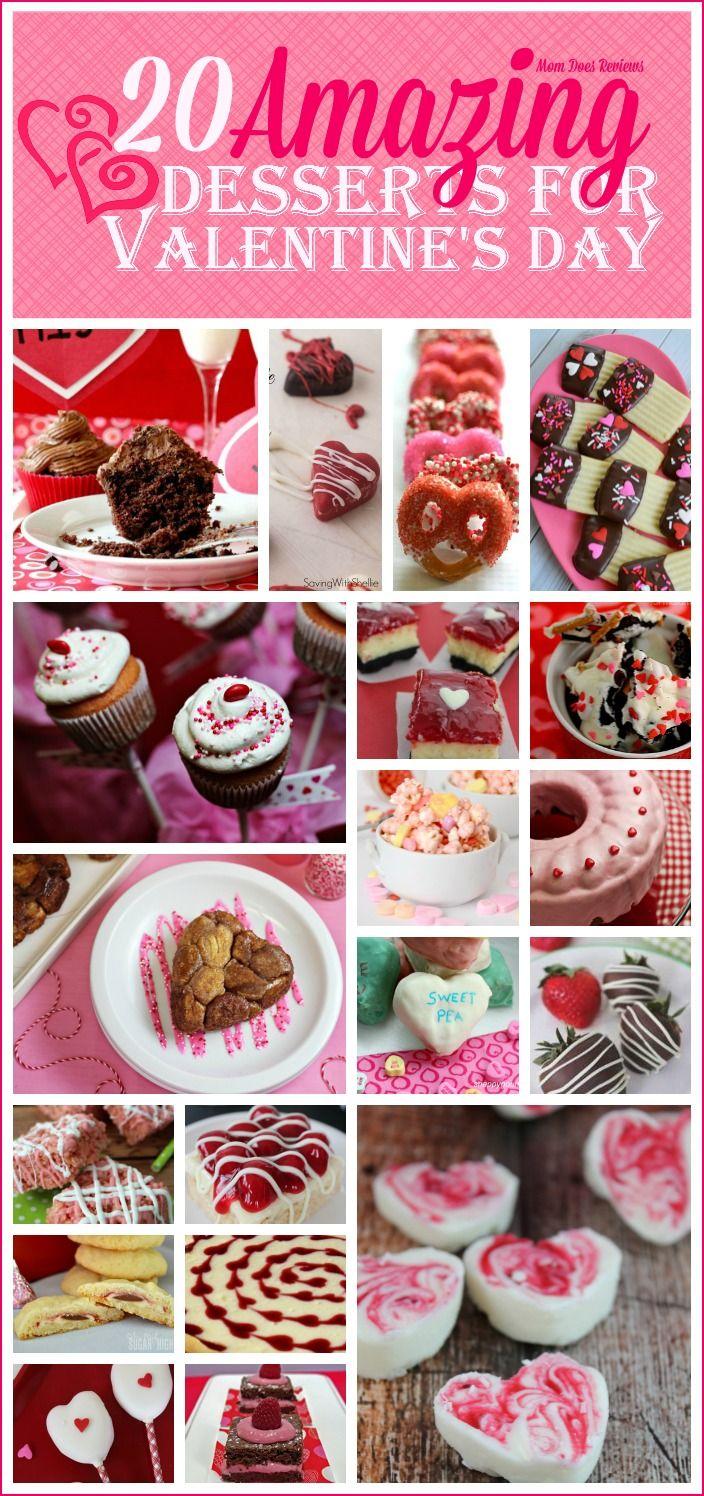 20 Amazing Valentine's Day Desserts #MomDoesReview…