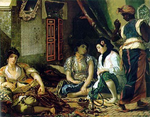 donne di Algeri -Delacroix