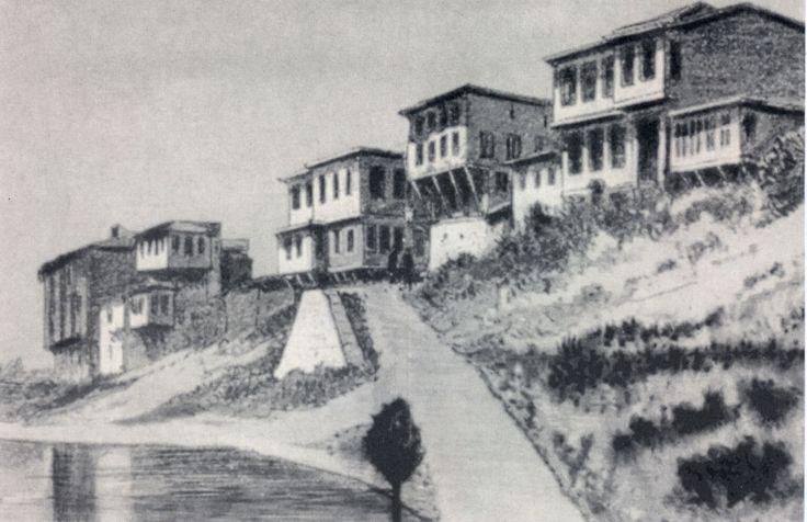 MACAR SOKAĞI RAKOCZİ MÜZESİ ÖNÜ 1923 Yılı (PROF. HOOP LAYOS ESERİNDEN)