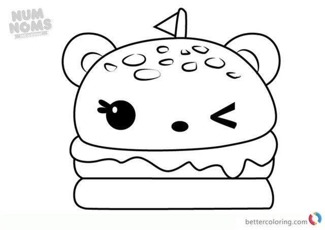 Wonderful Image Of Taco Coloring Page Shopkins Colouring Pages