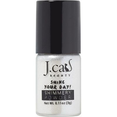 J.Cat Beauty Online Only Shimmery Powder Floral White