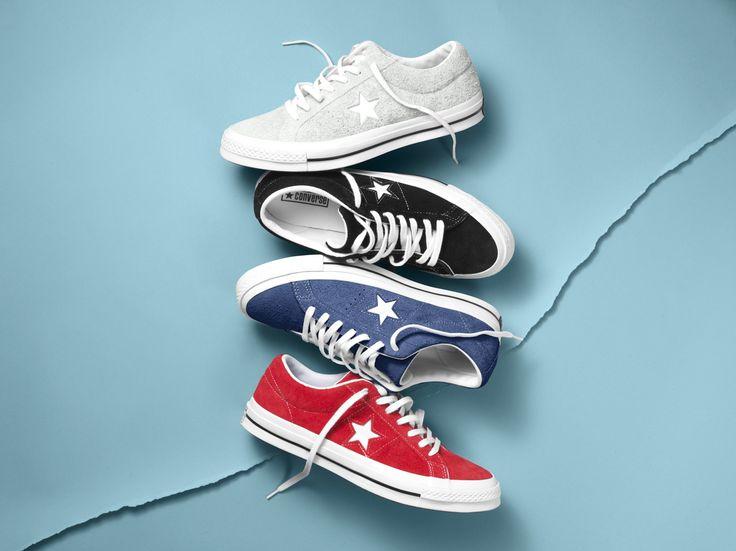 The Converse One Star Premium Suede. #RatedOneStar