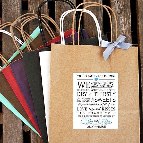 Wedding Weekend Gift Bag Ideas : ... bag wedding 2015 wedding events wedding parties our wedding weddings