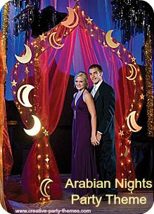 arabian nights party ideas