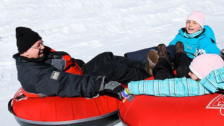 Tubing - Lakeridge Ski Resort, Uxbridge, Ontario